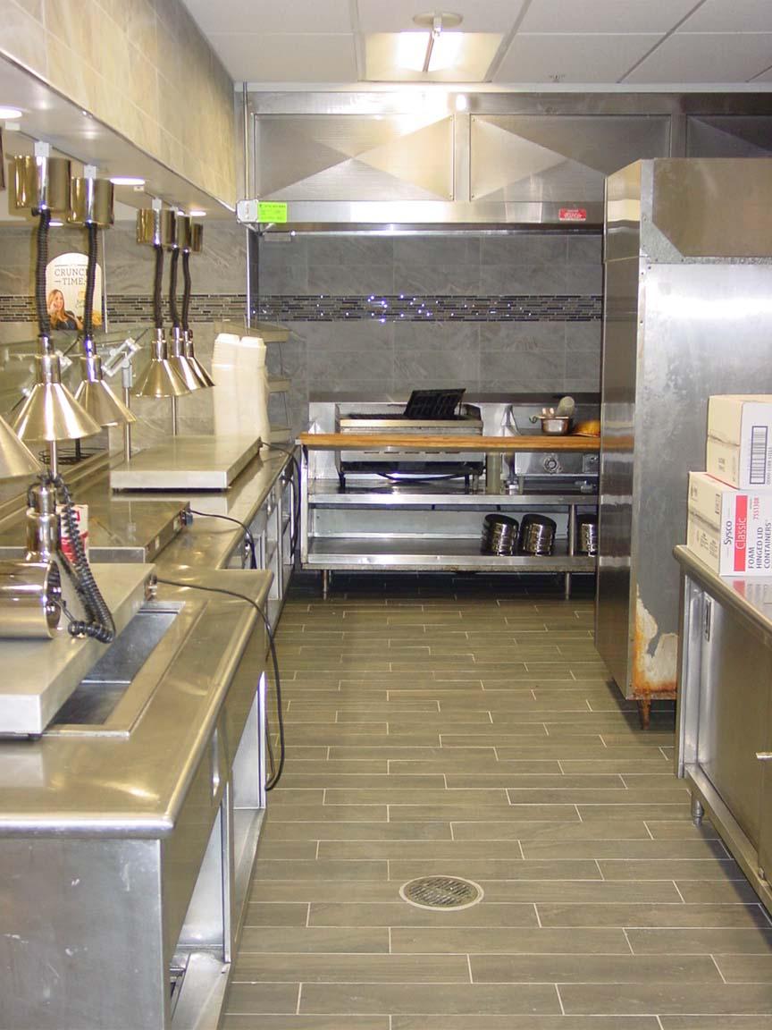 Commercial Kitchen National Grid Cafe