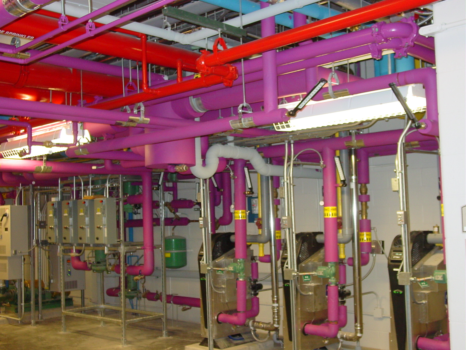 NYPA Mechanical Room