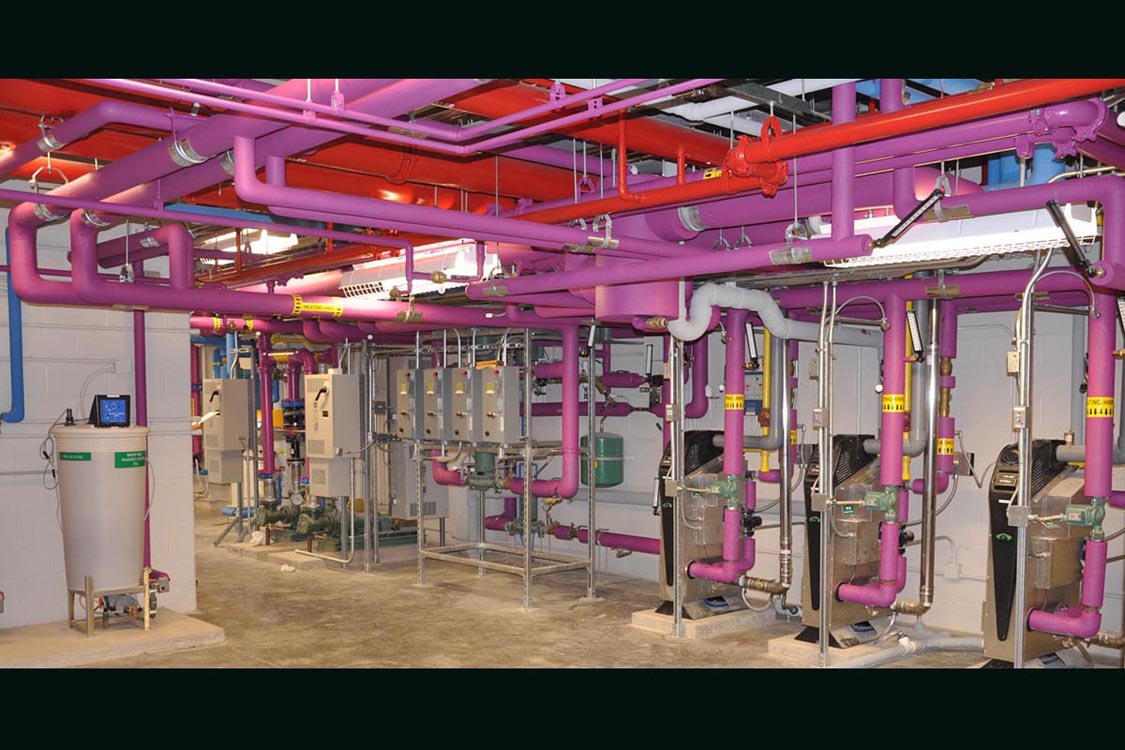 NYPA Niagara Mechanical Room