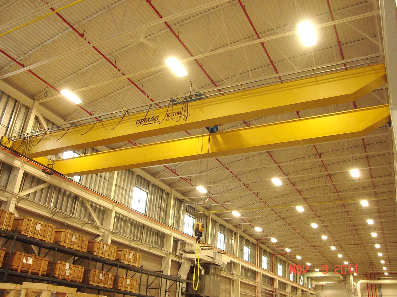 NYPA Warehouse Crane