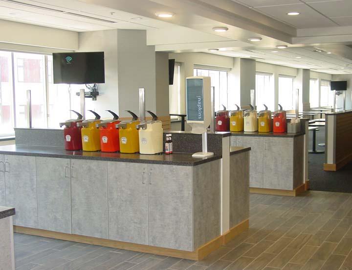 National Grid Cafe Serving Area