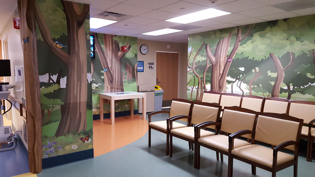 SUNY Upstate Peds Waiting Room